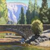 "American Legacy Fine Arts presents ""Stonebridge, Yosemite"" a painting by Tim Solliday."