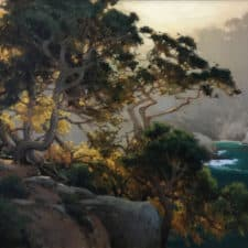 "American Legacy Fine Arts presents ""Hanging Cypress"" a painting by Brian Blood."