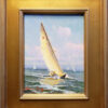 "American Legacy Fine Arts presents ""Sailing Along"" a painting by Calvin Liang."
