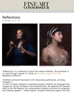 Fine Art Connoisseur Adrian Gottlieb Reflections