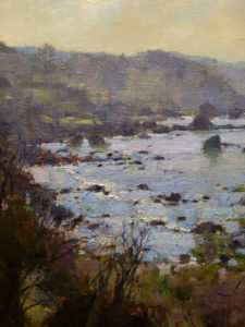 "American Legacy Fine Arts presents ""Trinidad Bay"" a painting by Jim McVicker."