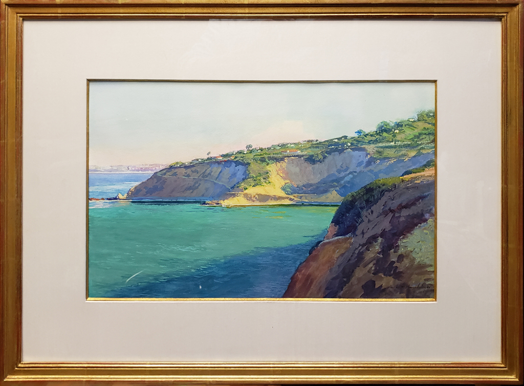 "American Legacy Fine Arts presents ""Morning at Bluff Cove"" a painting by Richard Humphrey."