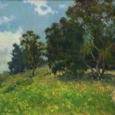 "American Legacy Fine Arts presents ""A New Season"" a painting by Richard M. Humphrey."
