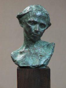 """American Legacy Fine Arts presents """"Color & Love"""" a sculpture by Alica Ponzio."""