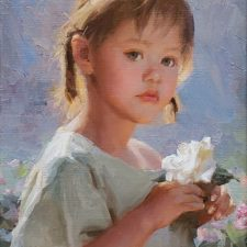 "American Legacy Fine Arts presents ""Innocence"" a painting by Mian Situ."