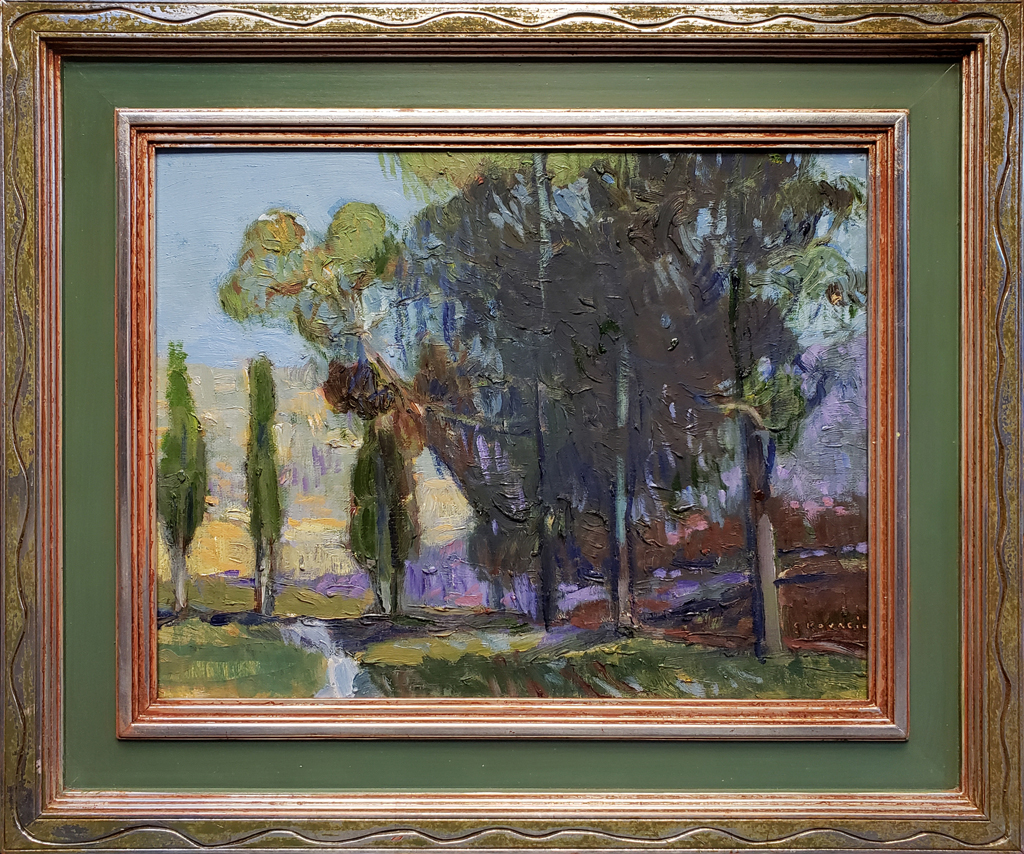 "American Legacy Fine Arts presents ""A Sense of Place; Cobb Estate"" a painting by Chuck Kovacic."
