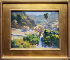 "American Legacy Fine Arts presents ""Beside the Canyon Road"" a painting by Jason Situ."