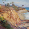 "American Legacy Fine Arts presents ""Late Afternoon Light; Laguna Beach, CA"" a painting by Jason Situ."