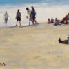 "American Legacy Fine Arts presents ""Beach Colors"" a painting by John Cosby."