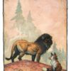 "American Legacy Fine Arts presents "" The Lion and the Fox"" a painting by William Stout."