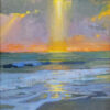 "American Legacy Fine Arts presents ""Pillar of Light; Oceanside, California"" a painting by Peter Adams"