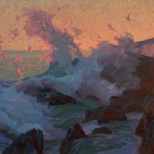 "American Legacy Fine Arts presents ""The Wave"" by Alexey Steele."