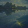 """American Legacy Fine Arts presents """"Resplendence"""" a painting by Jennifer Moses."""