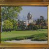 "American Legacy Fine Arts presents ""View from the 18th Green"" a painting by Alexander V. Orlov"
