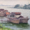 "American Legacy Fine Arts presents ""Home Sweet Home"" a painting by John Budicin."