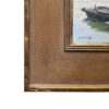"American Legacy Fine Arts presents ""Fishing Boats; Kaiping, China"" a painting by Keith Bond."