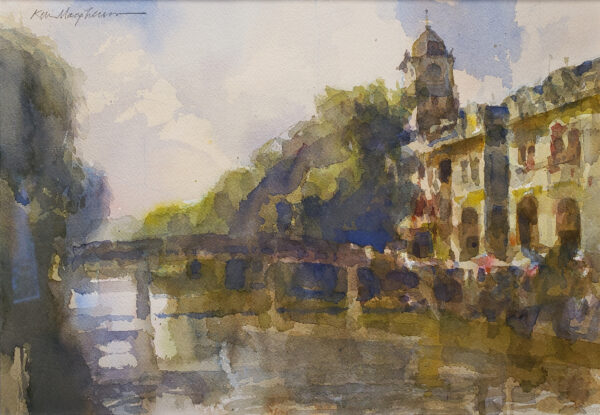 "American Legacy Fine Arts presents ""Chikan Bridge"" a painting by Kevin Macpherson."