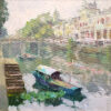 """American Legacy Fine Arts presents """"Chikan"""" a painting by Kevin Macpherson."""