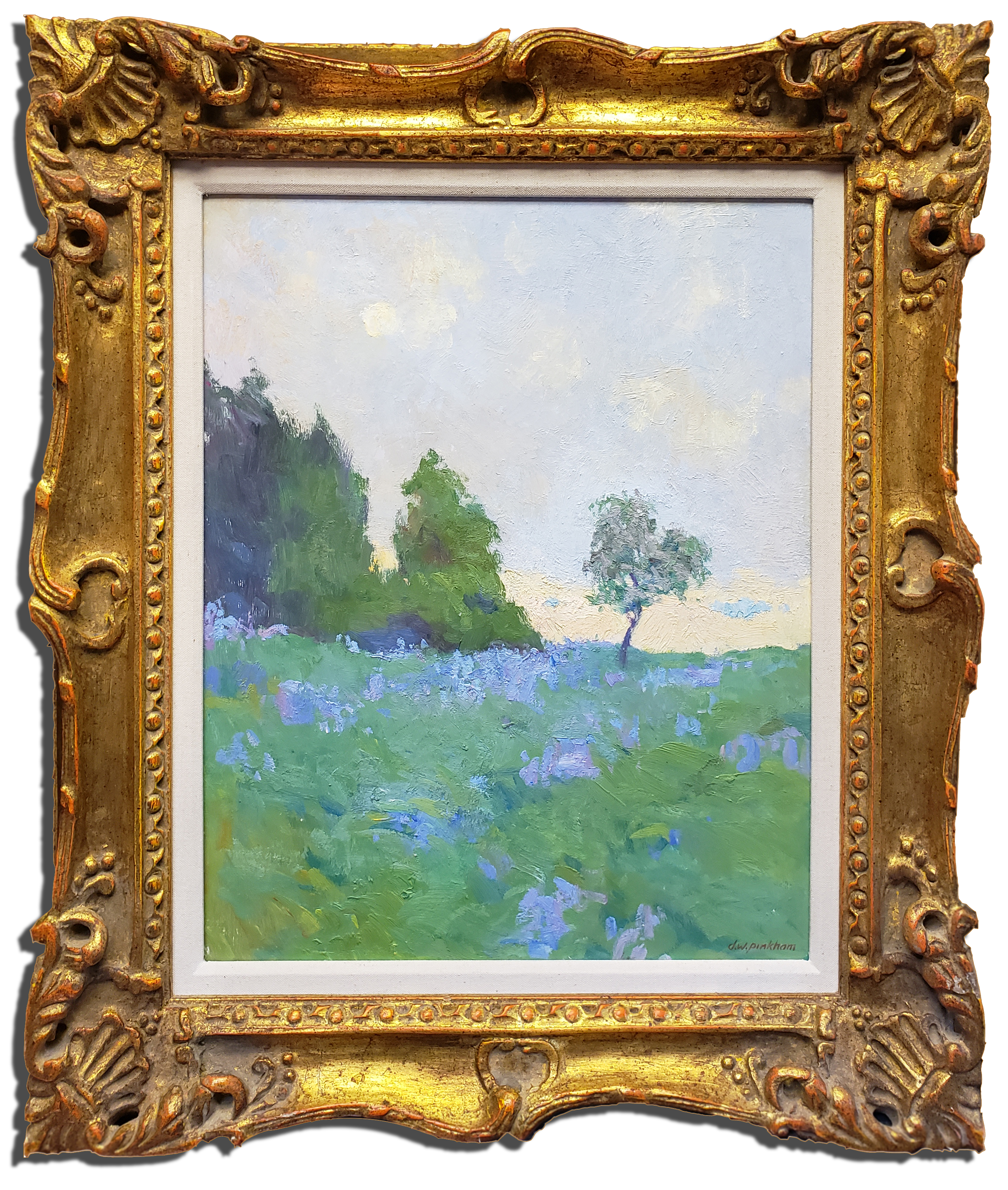 "American Legacy Fine Arts presents ""Saint Maries Fields"" a painting by Daniel W. Pinkham."