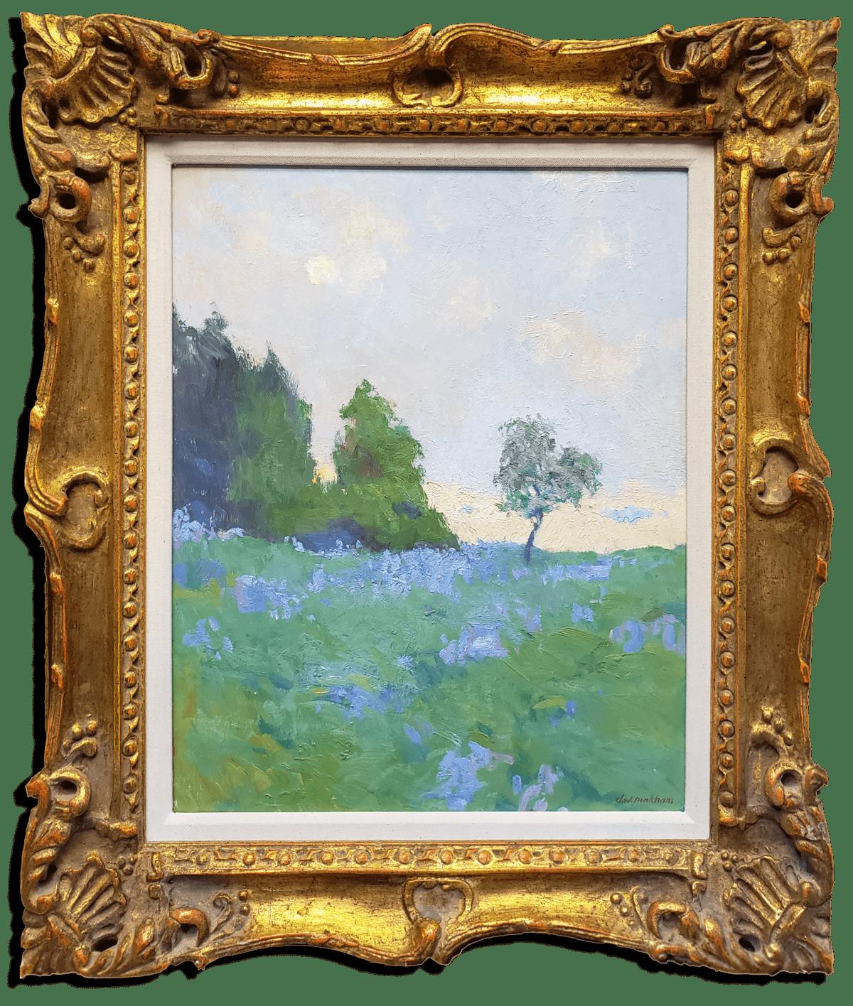 "American Legacy Fine Arts presents ""Saint Maries Fields"" a painting by Daniel W. Pinkham."