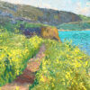 "American Legacy Fine Arts presents ""Portuguese Bend Spring Effect"" a painting by Daniel W. Pinkham."