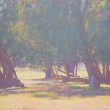"American Legacy Fine Arts presents ""Beneath the Trees"" a painting by Dan Schultz."