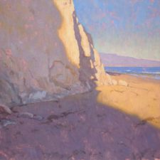 "American Legacy Fine Arts presents ""Shoreline Shadows"" a painting by Dan Schultz."