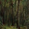"American Legacy Fine Arts presents ""A Forest; Kareia, Russia"" a painting by Nikita Budkov."