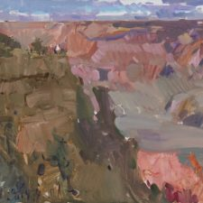 """American Legacy Fine Arts presents """"The Grand Canyon"""" a painting by Jove Wang"""