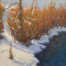 "American Legacy Fine Arts presents ""Fire & Ice"" a painting by Jennifer Moses."