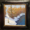 """American Legacy Fine Arts presents """"Fire & Ice"""" a painting by Jennifer Moses."""