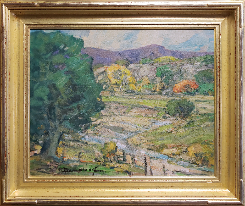"American Legacy Fine Arts presents ""Canyon Country Fall"" a painting by Karl Dempwolf."
