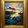 "American Legacy Fine Arts presents ""Brilliant Reflections of Rocky Point"" a painting by Peter Adams."
