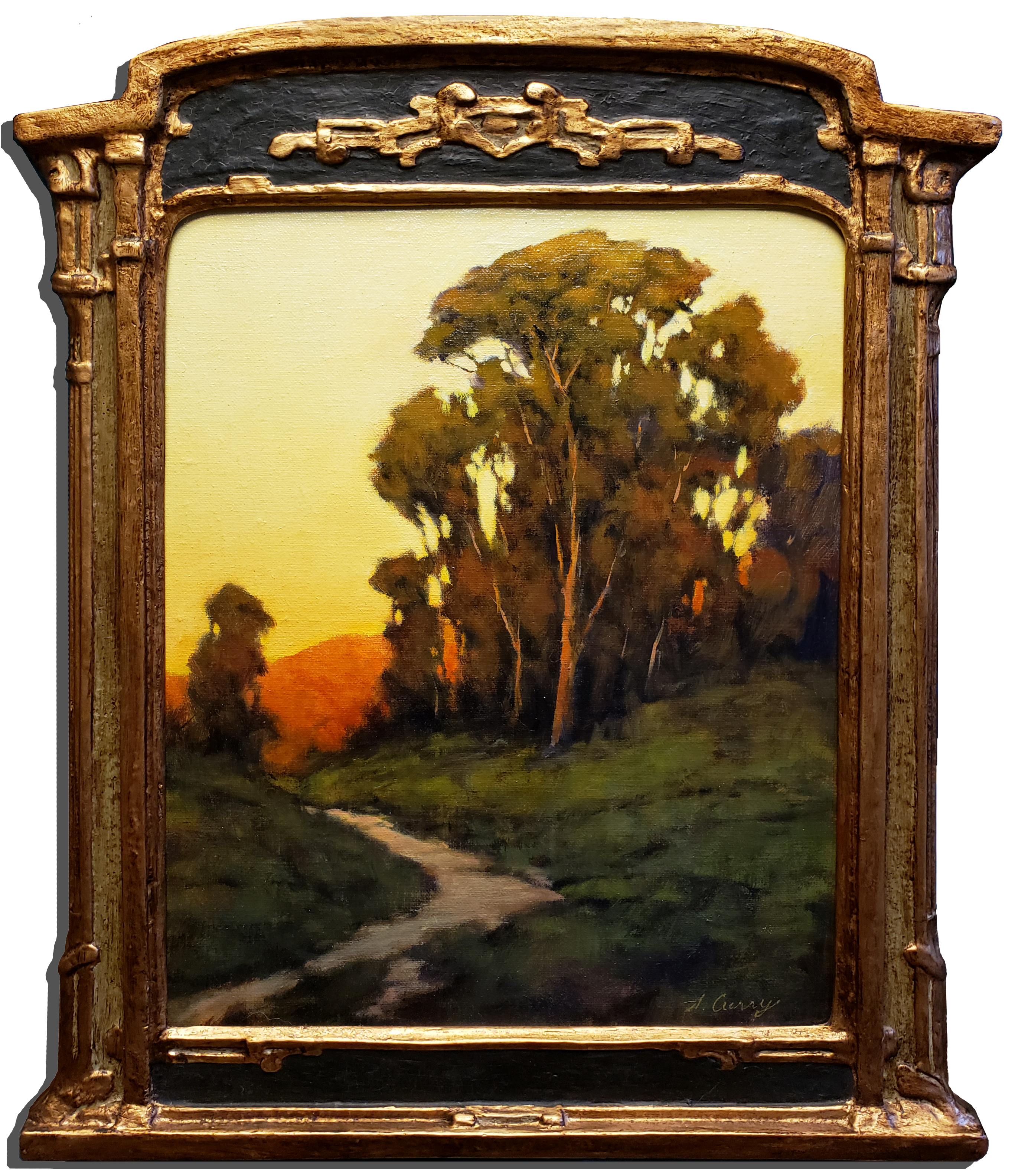 "American Legacy Fine Arts presents ""Nature's Toll Road"" a painting by Steve Curry."