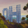 "American Legacy Fine Arts presents ""Hollywood Sign"" a painting by Tony Peters."