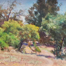 "American Legacy Fine Arts presents ""Down to Arroyo Park"" a painting by W Jason Situ."