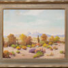 "American Legacy Fine Arts presents ""Untitled (Desert Scene, Palm Desert"" a painting by George Bickerstaff."