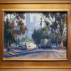 "American Legacy Fine Arts presents ""Chavez Ravine"" a painting by Michael Obermeyer."