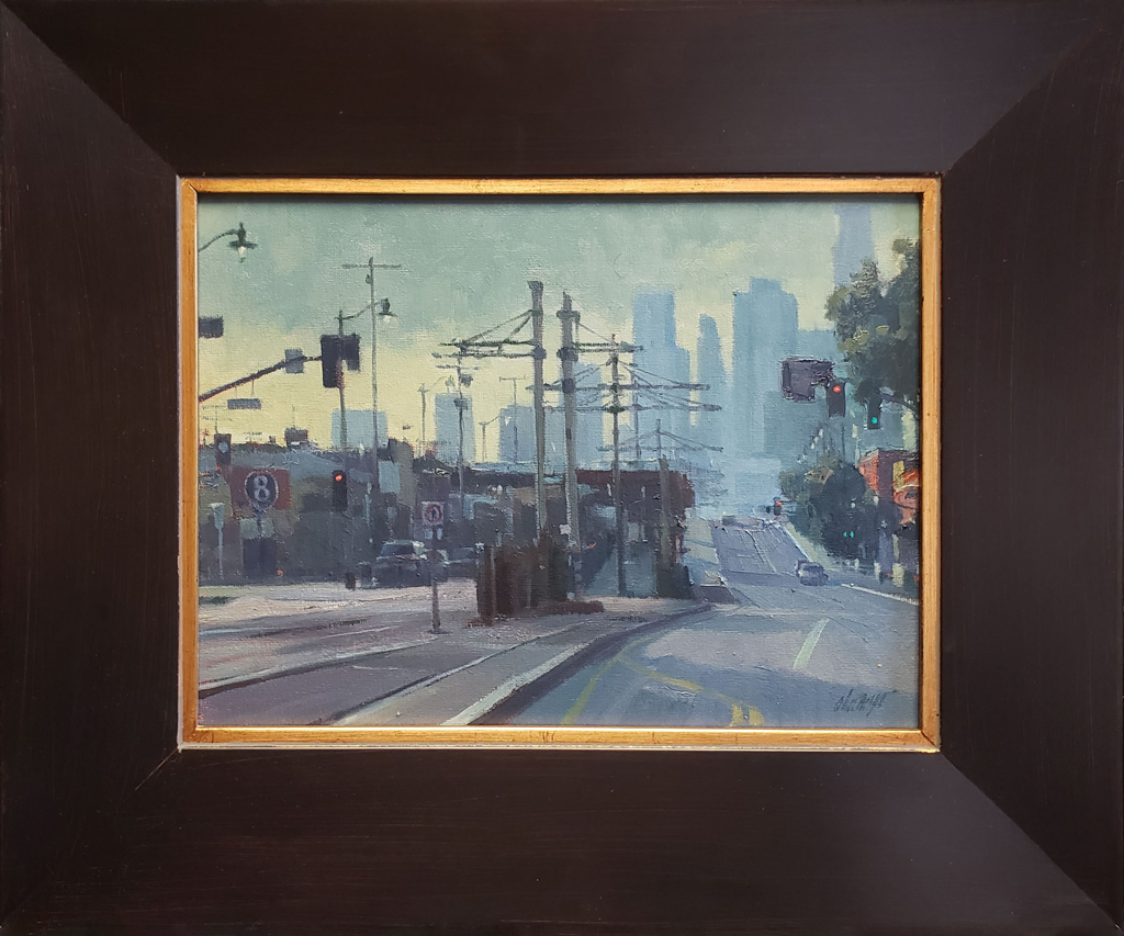 "American Legacy Fine Arts presents ""The Pico Aliso Station"" a painting by Michael Obermeyer."