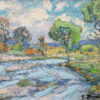 "American Legacy Fine Arts presents ""The Salinas River"" a painting by Karl Dempwolf."
