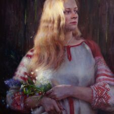 "American Legacy Fine Arts presents ""East of the Sun"" a painting by Nikita Budkov."