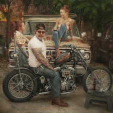 "American Legacy Fine Arts presents ""Tuesday's Gone"" a painting by Nikita Budkov."